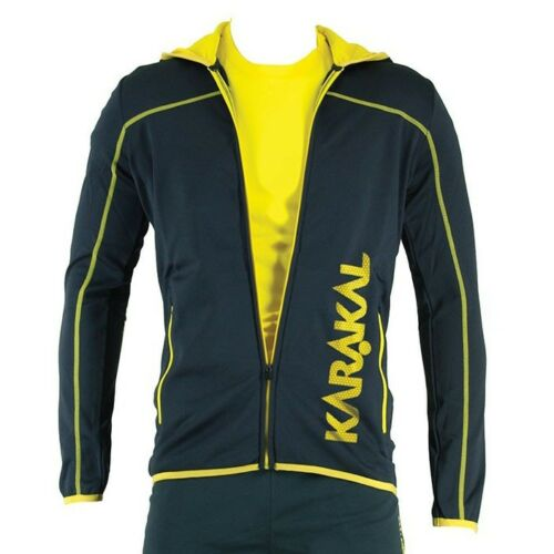 Small Karakal Pro Tour Hooded Graphite Jacket