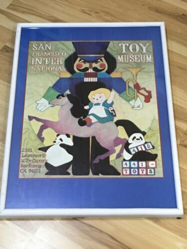 "San Francisco International Toy Museum 21x29"" Framed Print Find Art Wall Hang"