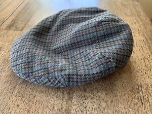 Vintage newspaper boy hat