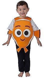 Nemo Kostüm aus Findet Dorie und Nemo Original Clownfisch Kinderkostüm