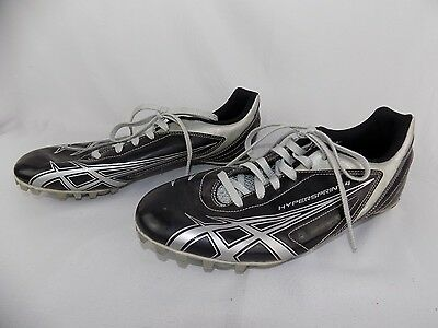 Spike Track Running Shoes Black Silver