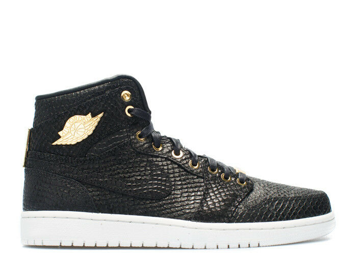 NIKE JORDAN Negro/MTLLC 1 PINNACLE PINNACLE AIR Negro/MTLLC JORDAN oro 705075030 Hombre talla: 9.5 US 2197e4
