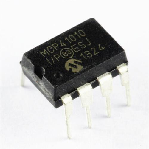 2pcs ORIGINAL MCP41010-I//P DIP-8 MCP41010 Digital Potentiometer NEW