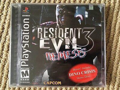 Resident Evil 3 Nemesis Ps1 Brand New Factory Sealed