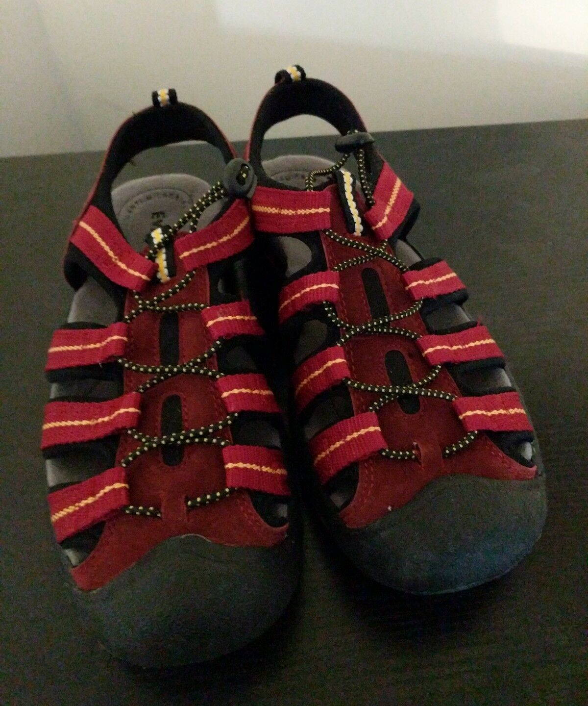 EVEREST Women's Tahoe Red Hiking Sport Sandals Size 7.5