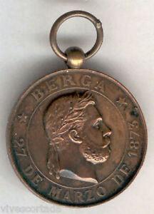 Espana-Medalla-Calos-VII-Toma-de-Berga-1873-EXCELENTE