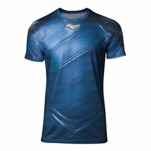 Hommes Marvel Comics Thor Ragnarok Loki Armor Sublimation T-Shirt Xx-Large