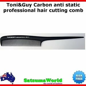 TONI-amp-GUY-Carbon-Fibre-Cutting-Comb-Hair-Sectioning-Anti-Static-TONI-AND-GUY-NEW