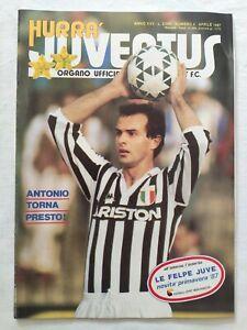 HURRA-039-JUVENTUS-N-4-APRILE-1987-ANTONIO-CABRINI-LUCIANO-PAVAROTTI-SCIREA