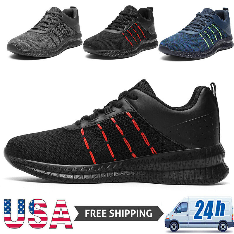 Men's Sneakers Athleitc Casual Lightweight Sports Running Tennis Shoes Jogging