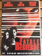 DVD FATALE BEGIERDE Kurt Russell - Ray Liotta - Madeleine Stowe -wie neu-