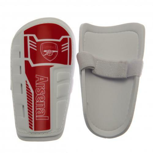 Officiel Football Club Arsenal F.C. Kids Shin Pads Kids F.C. Free (Royaume-Uni) P + P 5cc340