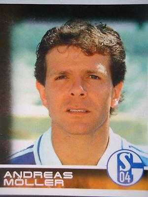 215 GERALD ASAMOAH DEUTSCHLAND FC SCHALKE 04 STICKER BUNDESLIGA 2001 PANINI