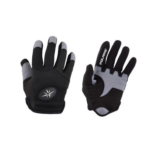 286867203 Black Size Medium Polaris Youth Off-Road Riding Glove