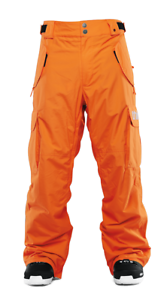 2017 NWT MENS  THIRTYTWO BLAHZAY SNOWBOARD PANTS  270 L orange 2L cargo pants  best choice