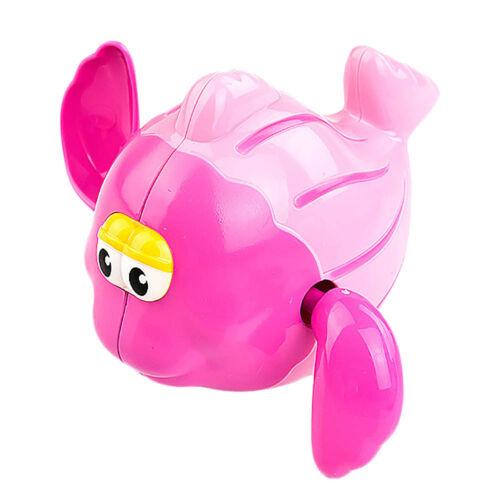 Baby Kids child Swiming Bath Toys Cute Plastic Wind-up Clockwork Moving Animals