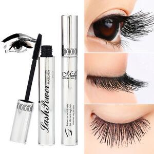 Black-4D-Silk-Fiber-Eyelash-Mascara-Extension-Makeup-Waterproof-Kit-Eye-Lashes