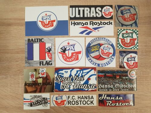 Hansa Rostock Aufkleber Sammlung Auflösung Suptras Ultras Fanatics HRO Nr.2