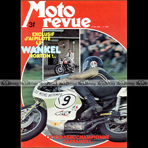 MOTO-REVUE-N-2192-NORTON-WANKEL-R4-YAMAHA-TZ-700-BARRY-SHEENE-PHIL-READ-1974
