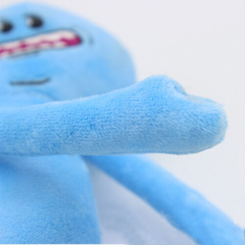 Rick And Morty Mr Meeseeks Happy Sad Face Stuffed Plush Dolls Soft Kids Toys