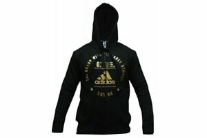 Adidas-Boxing-Hoody-Black-Casual-Training-Gym-Fitness-Zip-Up-Hoodie-Mens