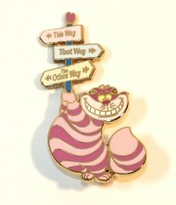 Cheshire Cat Character Candy Apples Disney Lapel Pin