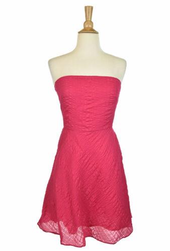 J. Crew Women Dresses A - Line 2 Pink Cotton