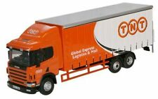 Oxford Diecast 1:76 - Scania 94 6 Wheel Curtainside - TNT