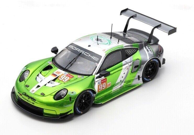Porsche 911 991 Rsr Th 24H Le Mans 2018 P.Long T.Pappas SPARK 1 43 S7045