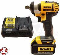 Dewalt Dcf880 20v 20 Volt Max Dcb200 Battery Cordless 1/2 Impact Wrench Kit