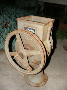 Little Giant Ice Breaker Model 23    Antique Ice Maker Tool Machine