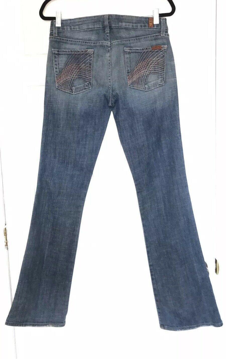7 For All Mankind Jeans Lily bluee Distressed Denim