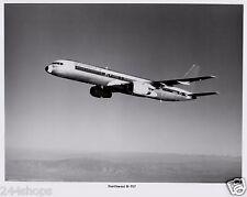 VINTAGE NORTHWEST PHOTO OF 757 CLIMBING BLACK AND WHITE  8 X 10