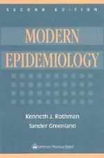 Modern Epidemiology, Greenland, Sander, Rothman, Kenneth J., Good Book