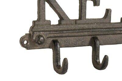 """Bello Appendichiavi In Ghisa Portachiavi Scritta """"keys"""". Misure 27x3 Altezza 14cm"""