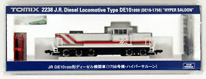 Tomix 2238 Jr Locomotive Type De10-1000 (de10-1756)