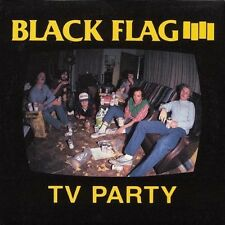 BLACK FLAG - TV PARTY (2000) VINYL LP SINGLE NEU