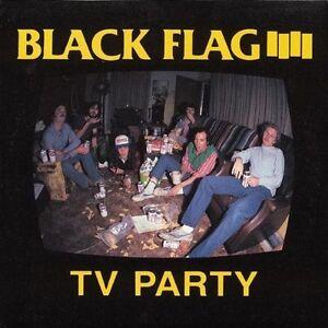 BLACK Flag-TV Party (2000) VINILE LP NUOVO Single