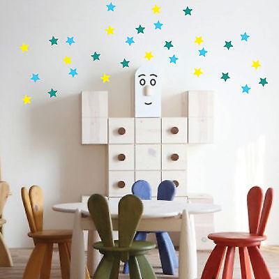42 Stars Vinyl Wall Art Stickers, Wall Decals