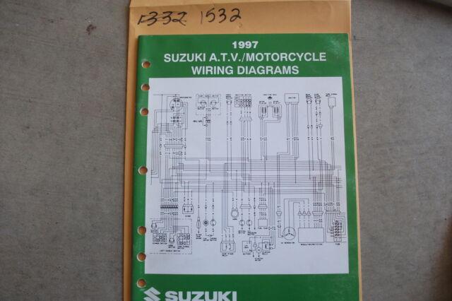 1997 Suzuki Motorcycle  U0026 Atv Wiring Diagrams Manual