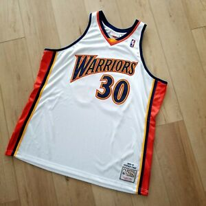 sale retailer 49d9b 6b157 Authentic Stephen Curry Mitchell & Ness 09 10 Warriors ...