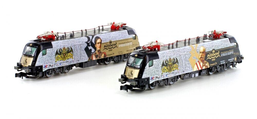Hobbytrain 2775 - E-Lok Taurus BR182 MRCE  Kaiser Franz Joseph  Ep.VI