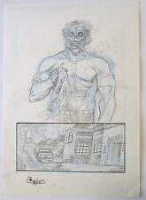 ORIGINAL ART PAGE COMIC THE WESTWOOD WITCHES BY ROGER BONET