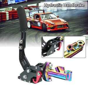 Hydraulic Drift Hydro E-Brake E Brake Racing Handbrake Long Arm Lever Park Brake
