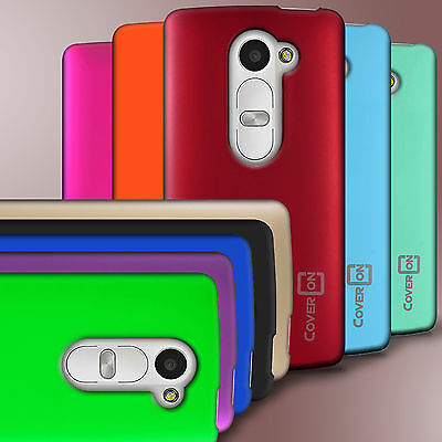 For LG Leon Tribute 2 Risio Case Protector Hard Rubberized Slim Phone Back Cover