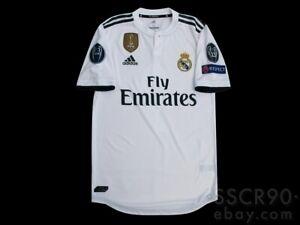 Adidas Real Madrid 2018 19 Hogar Camiseta Climachill Player Issue Cg0561 9 Al Ebay