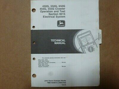 [XOTG_4463]  John Deere 450G 455G 550G 555G 650G Crawler Electrical Wiring Diagrams  Manual   eBay   John Deere 650g Wiring Diagram      eBay