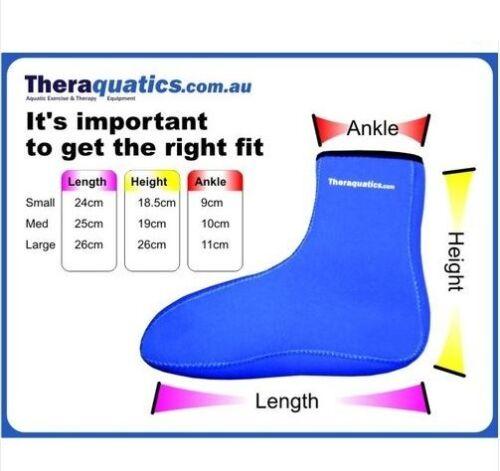 Waterproof Shoes CHOOSE SIZE Water Aerobics SOCKS Neoprene 6052 Snorkelling Aqua