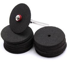 17x Stück Trennscheiben mit 1x Spanndorn 24x0,8mm für Dremel Proxxon Zubehör D67