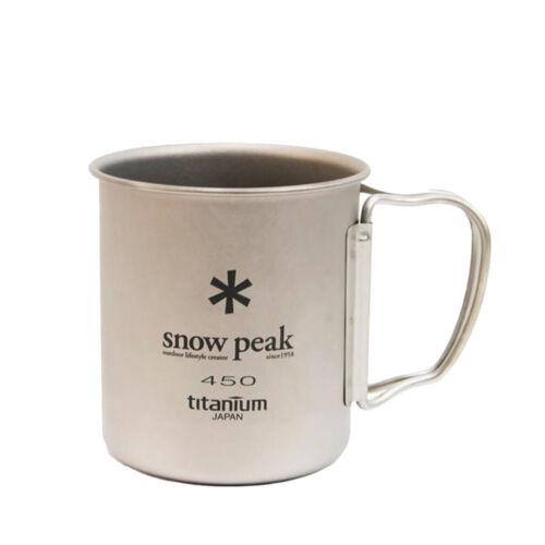 Snow Peak Single Wall 450 Mug Titanium BNWT